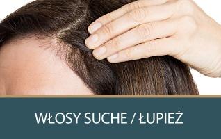 Włosy suche / Łupież