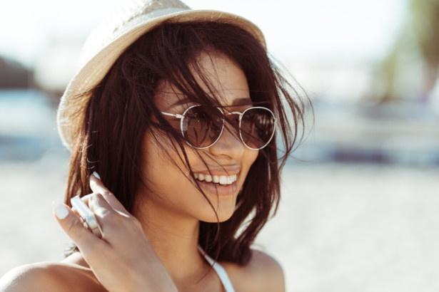 Dziewczyna w kapeluszku
